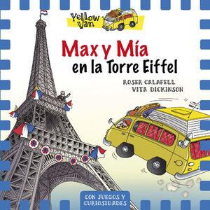 YELLOW VAN 13. MAX Y MÍA EN LA TORRE EIFFEL