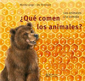 ¿QUÉ COMEN LOS ANIMALES?