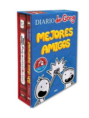 ESTUCHE MEJORES AMIGOS ROWLEY - GREG