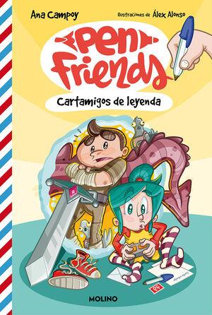 PEN FRIENDS 1. CARTAMIGOS DE LEYENDA