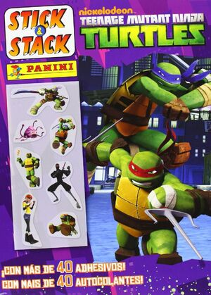 TEENAGE MUTANT NINJA TURTLES (STICK & STACK 188)