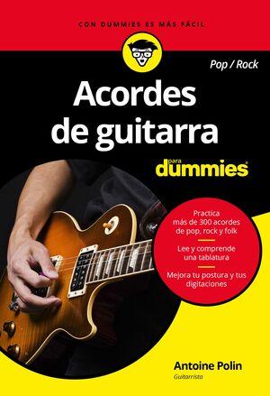 ACORDES DE GUITARRA POP/ROCK PARA DUMMIES