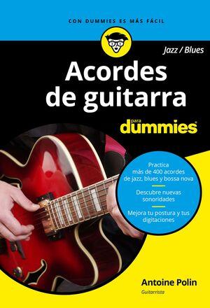 ACORDES DE GUITARRA BLUES/JAZZ PARA DUMMIES