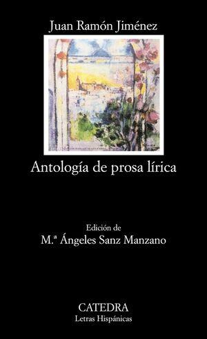 ANTOLOGÍA DE PROSA LÍRICA