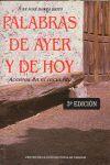PALABRAS DE AYER Y DE HOY