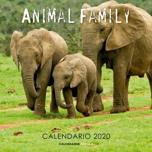 CALENDARIO ANIMAL FAMILY 2020