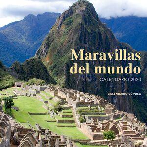 CALENDARIO MARAVILLAS DEL MUNDO 2020