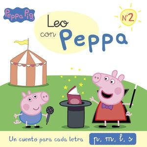 UN CUENTO PARA CADA LETRA: P, M, L, S (LEO CON PEPPA PIG 2)
