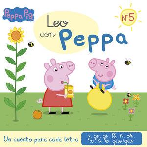 LEO CON PEPPA PIG: J, GE, GI, LL, Ñ, CH, X, K, W, GÜE-GÜI (LEO CON PEPPA