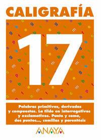 CALIGRAFÍA 17.