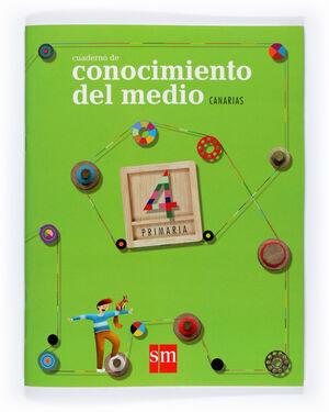 CUADERNO DE CONOCIMIENTO DEL MEDIO. 4 PRIMARIA. CANARIAS