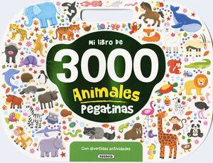 MI LIBRO DE 3.000 PEGATINAS DE ANIMALES