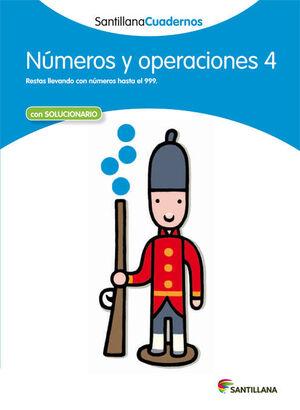 NUMEROS Y OPERACIONES 4 SANTILLANA CUADERNOS