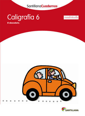 CALIGRAFIA 6 CUADRICULA SANTILLANA CUADERNOS
