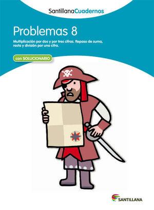 PROBLEMAS 8 SANTILLANA CUADERNOS