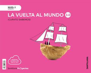 LA VUELTA MUNDO 3.0 NIVEL 2 CUANTO SABEMOS ED20
