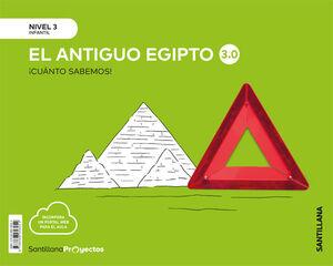 LOS EGIPCIOS 3.0 NIVEL 3 CUANTO SABEMOS ED20