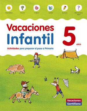 VACACIONES INFANTIL 5 AÑOS