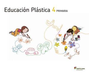 EDUCACIÓN PLÁSTICA 4 PRIMARIA ED2012