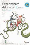 CONOCIMIENTO DEL MEDIO CANARIAS 3 PRIMARIA LOS CAMINOS DEL SABER