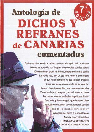 ANTOLOGÍA DE DICHOS Y REFRANES DE CANARIAS COMENTADOS