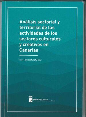 ANALISIS SECTORIAL Y TERRITORIAL ACTIVIDADES SECTORES CULT