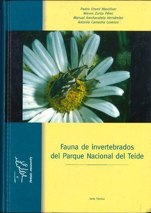FAUNA INVERTEBRADA DEL PARQUE NACIONAL DE TEIDE