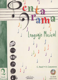 PENTAGRAMA II LENGUAJE MUSICAL ELEMENTAL