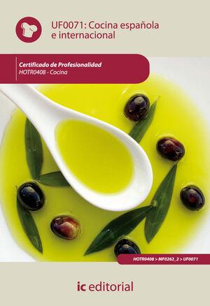 COCINA ESPAÑOLA E INTERNACIONAL. HOTR0408 - COCINA