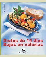 DIETA DE 14 DÍAS BAJA EN CALORÍAS