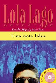 UNA NOTA FALSA,  LOLA LAGO + CD