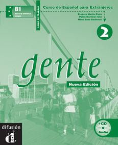 GENTE 2 NUEVA EDICIÓN. LIBRO DE TRABAJO + CD