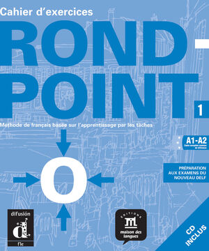 ROND-POINT 1 CAHIER D'EXERCICES + CD