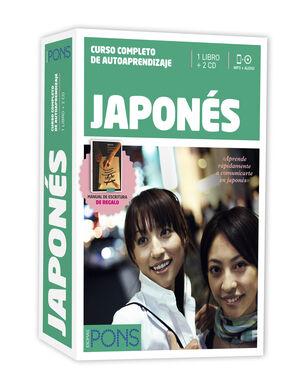 CURSO PONS JAPONÉS - 2 LIBROS + 2 CD