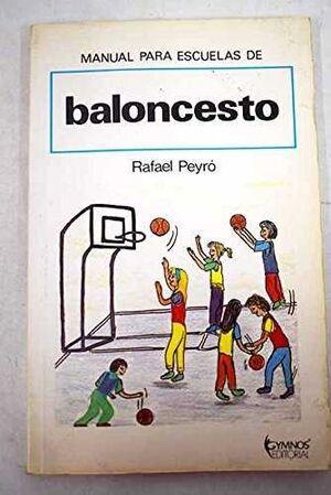 MANUAL PARA ESCUELAS DE BALONCESTO