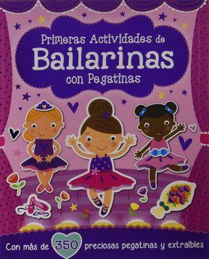 BAILARINAS CON PEGATINAS PRIMERAS ACTIVIDADES