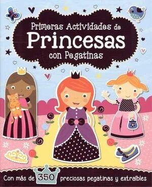 PRINCESAS CON PEGATINAS PRIMERAS ACTIVIDADES