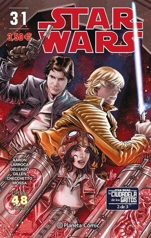 STAR WARS Nº 31/64 (LA CIUDADELA DE LOS GRITOS 2 DE 3)