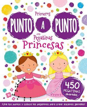PRIMEROS PUNTO A PUNTO CON PEGATINAS PRINCESAS