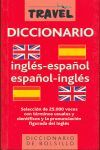 DICCIONARIO TRAVEL INGLÉS-ESPAÑOL, ESPAÑOL-INGLÉS