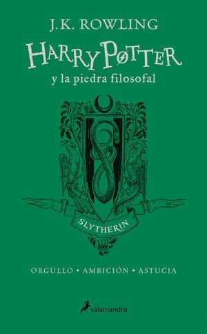 HARRY POTTER Y LA PIEDRA FILOSOFAL (EDICIÓN SLYTHERIN DEL 20º ANIVERSARIO) (HARR