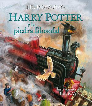HARRY POTTER Y LA PIEDRA FILOSOFAL (HARRY POTTER [EDICIÓN ILUSTRADA] 1)