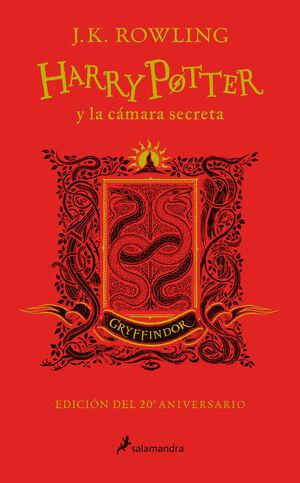 HARRY POTTER Y LA CÁMARA SECRETA (EDICIÓN GRYFFINDOR DEL 20º ANIVERSARIO) (HARRY