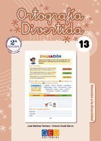 ORTOGRAFÍA DIVERTIDA 13