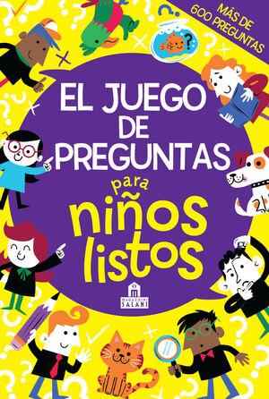 JUEGO DE PREGUNTAS PARA NIÑOS LISTOS,EL 2ªED
