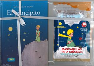 PRINCIPITO AZUL PACK LIBRO + MASCARILLAS
