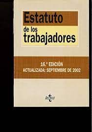 ESTATUTOS DE LOS TRABAJADORES  16º EDICIONES