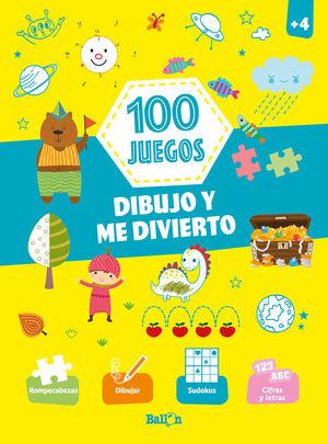 100 JUEGOS - DIBUJO Y ME DIVIERTO +4