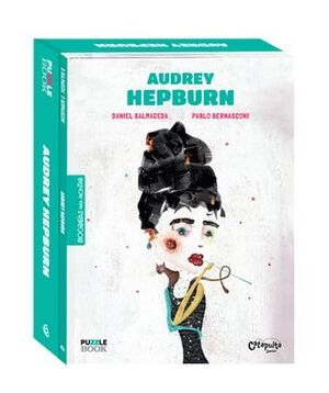 AUDREY HEPBURN - PUZLE BOOK