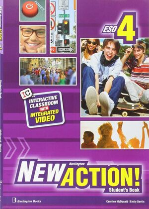 NEW BURLINGTON ACTION 4 STUDENT'S BOOK